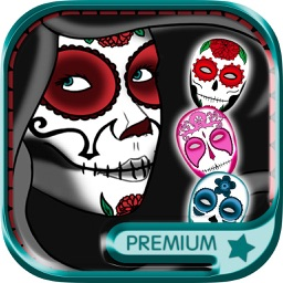 Sugar skull Mexican for Halloween – Premium