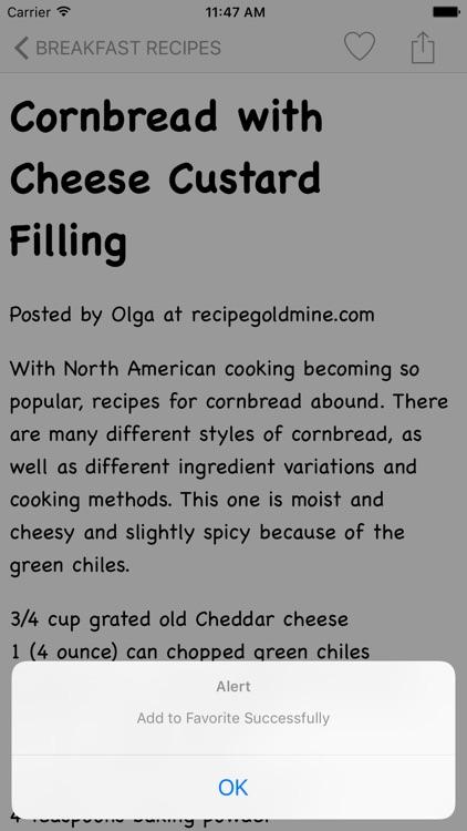 Bread Recipes HD screenshot-3