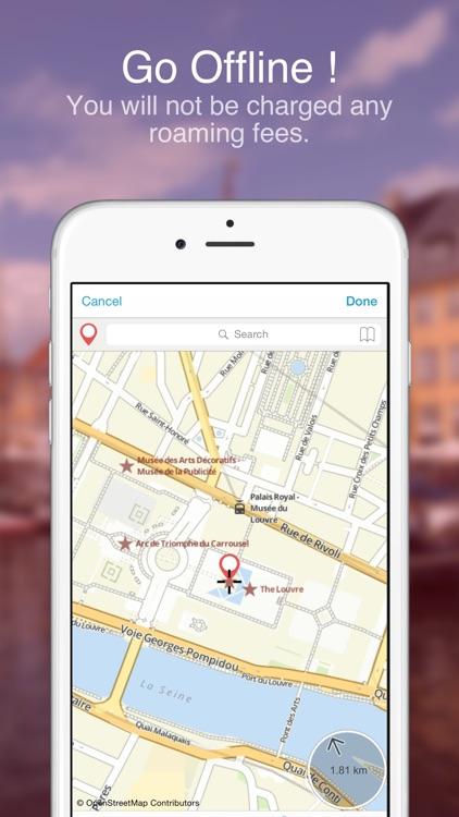 Paris on Foot : Offline Map screenshot-3