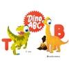 ABC Dinosaur Big Eye Collection 顔文字