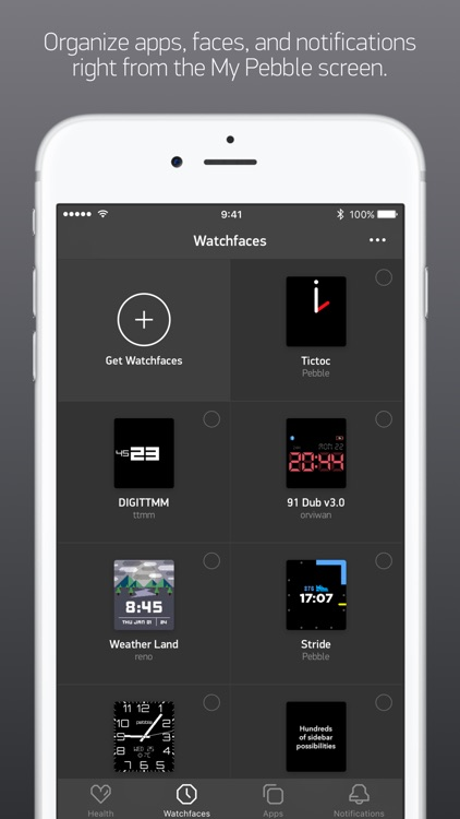 Pebble™ screenshot-1