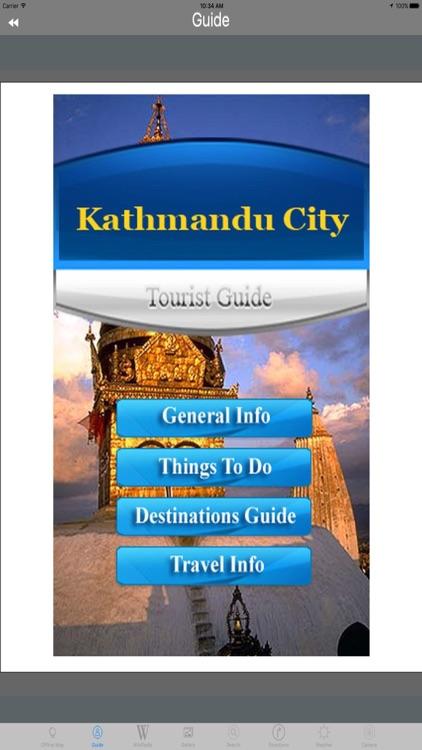 Kathmandu City - Nepal Tourist Travel Guide screenshot-3