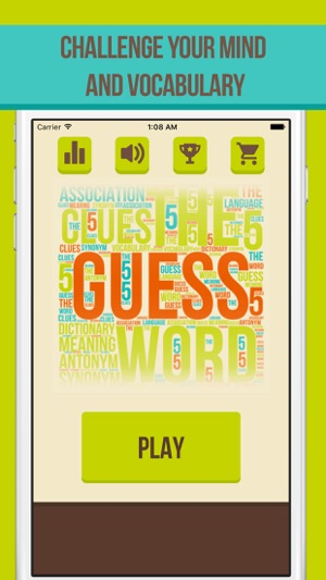 Guess the Word - 5 Clues on the App Store