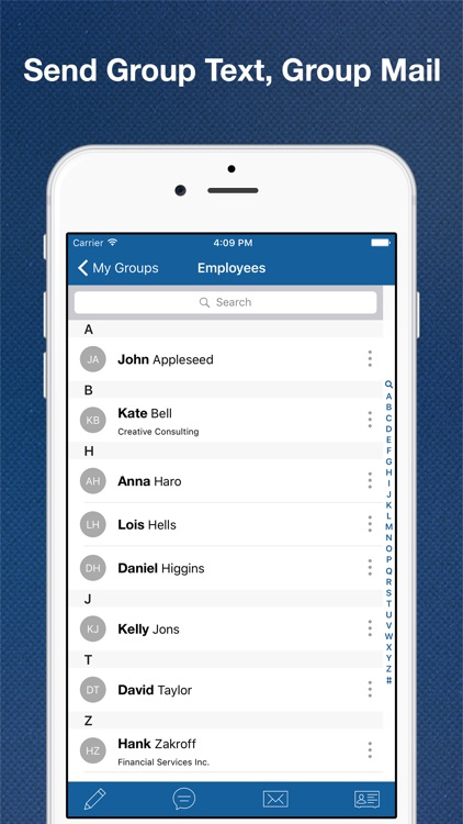 My Groups - Contact Manager, Group Text & Mail screenshot-3