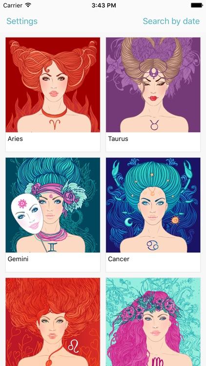 Zodiac signs - Astrology