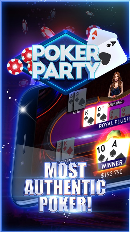 Poker Party - Texas Holdem