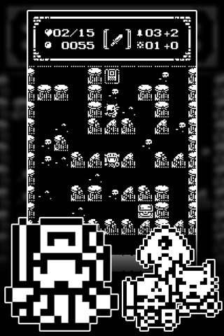 1-Bit Rogue: A dungeon crawler RPG! screenshot 3