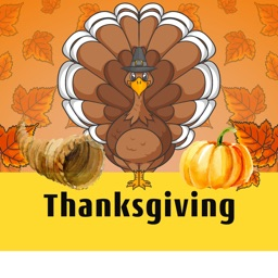 Thanksgiving Day Stickers for iMessage