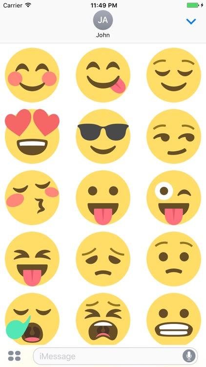 Smileys Stickers screenshot-4