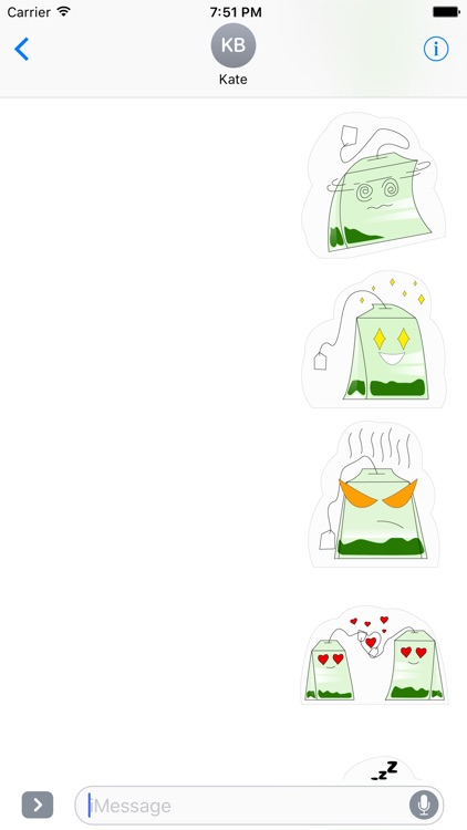 Matcha Sticker Pack screenshot-3