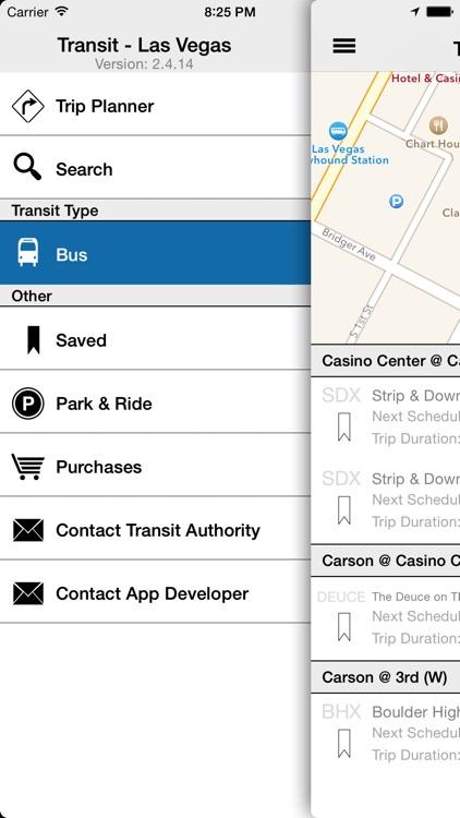 Transit Tracker - Las Vegas (RTCNV)