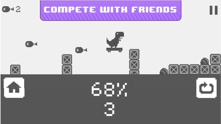 Jura Runner - The Jumping Chrome Dinosaur Game screenshot-4