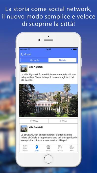 Screenshot of Lifcity Napoli - Mappa città e guida turistica2