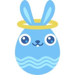 Cute Bunny Egg Sticker Pack