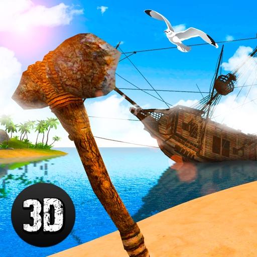 Pirate Island Survival Simulator 3D iOS App
