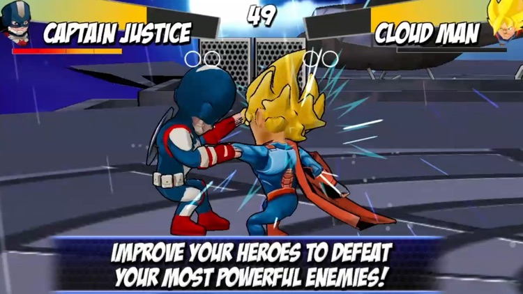 Superheroes Shadow Battle