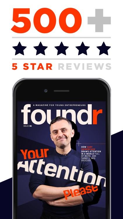 AAA+ Foundr - Entrepreneur Magazine for a Startup screenshot-3