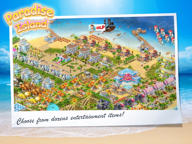 Paradise Island HD screenshot-2