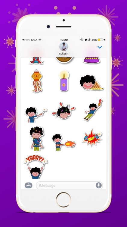 Diwali-Stickers