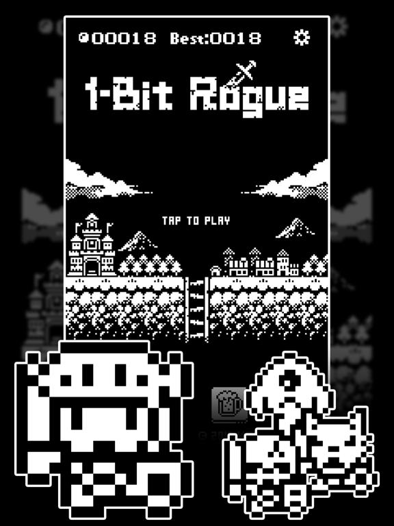 1ビットローグ ダンジョン探索RPG!のおすすめ画像1
