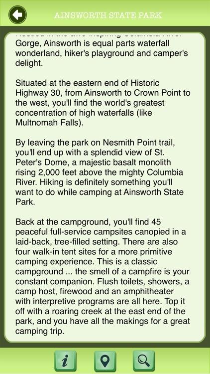 Oregon - State Parks & National Parks Guide screenshot-3
