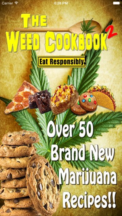 Weed Cookbook 2 - Med... screenshot1