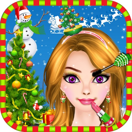 Games For Girls By Siraj Admani: Christmas Party Makeover Salon