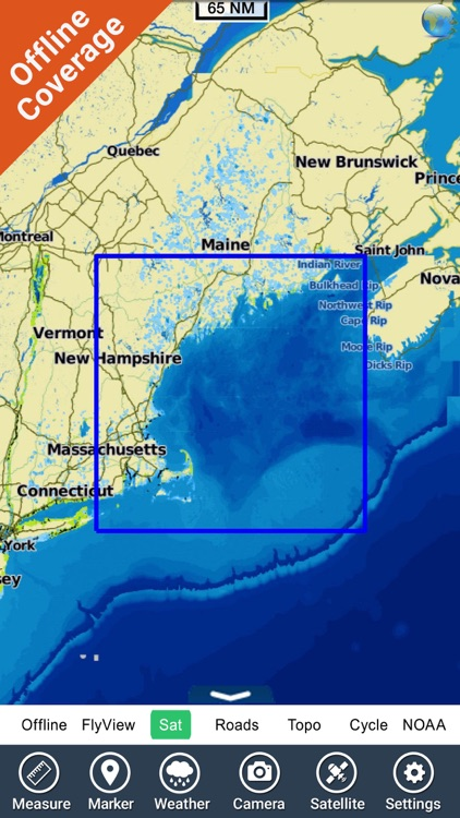 Boating Rhode Island to Maine GPS chart Navigator screenshot-4