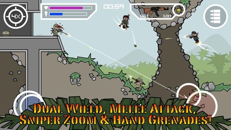 Doodle Army 2 : Mini Militia - Online Multiplayer
