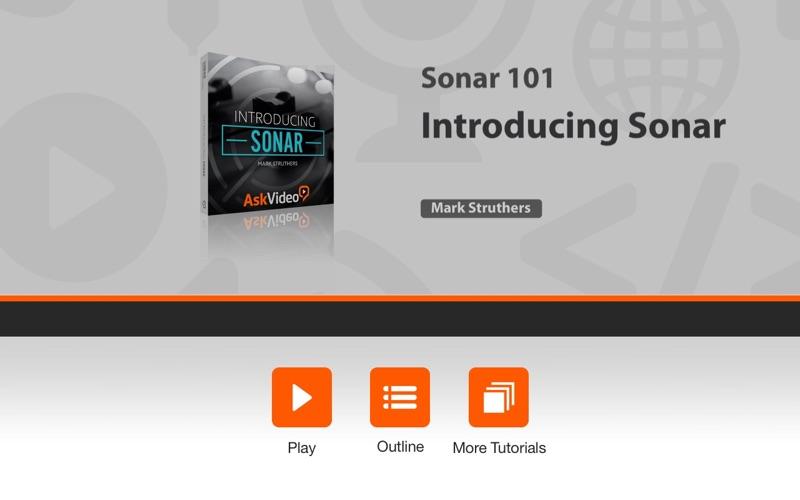 Intro Course For Sonar