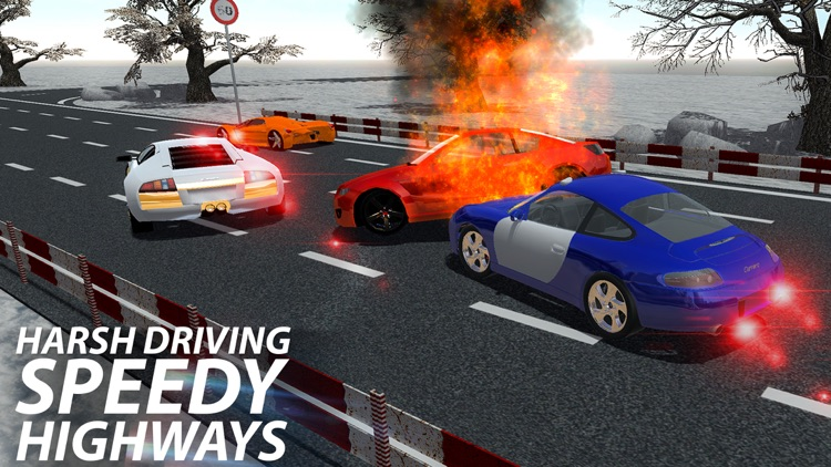Crazy Smashy Road Racing: Cars Battle screenshot-4