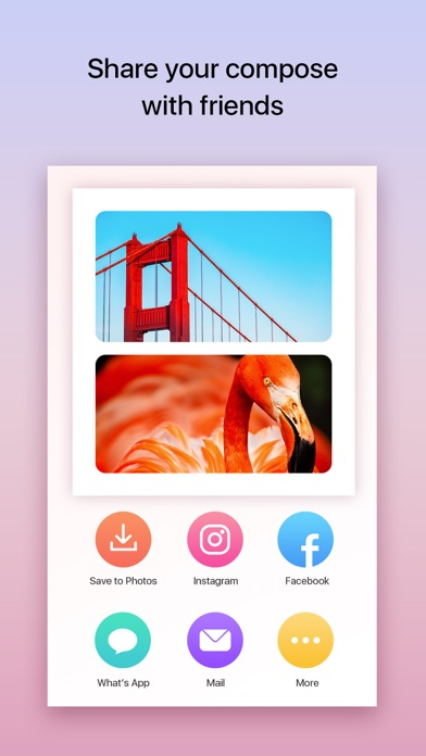 Download iCollage - The quickest photo collage maker app for Pc