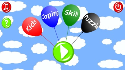 Kids Coping Skill Puzzle screenshot one