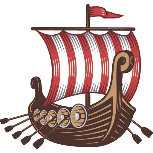 Viking Aufkleber Für Leif Eriksson Tag