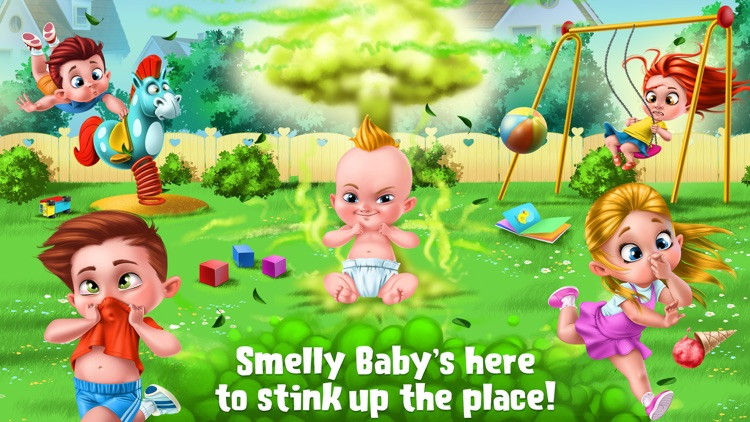 Smelly Baby - Farty Party screenshot-0