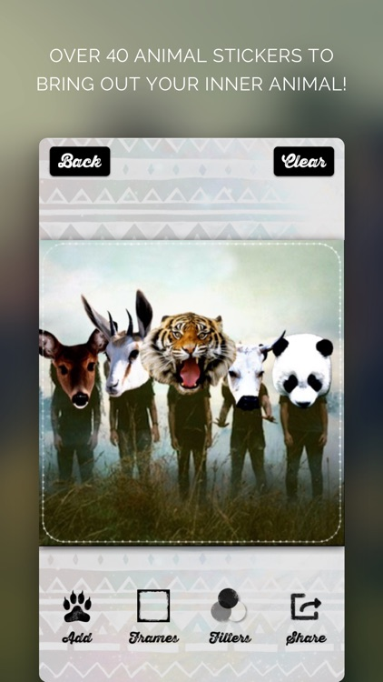 Animal Face - IG Selfie Editor screenshot-4