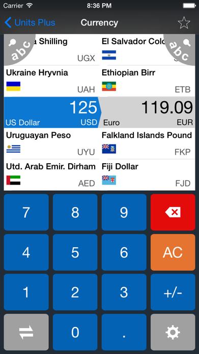 Unit Converter FREE - Best Units & Currency app Screenshot