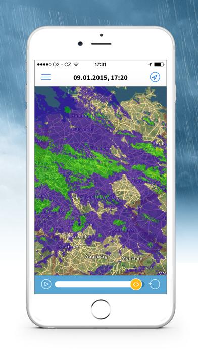 Wetterradar app image