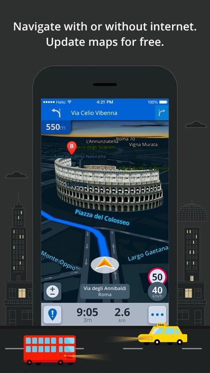 Sygic Middle East: GPS Navigation screenshot-3