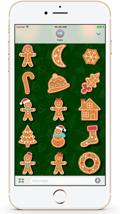 Gingerbread Christmas Cookies screenshot-2