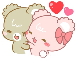 Suger Cubs - for Loving talk Animated Sticker