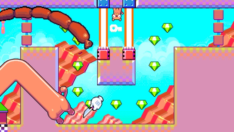 Silly Sausage in Meat Land screenshot-4