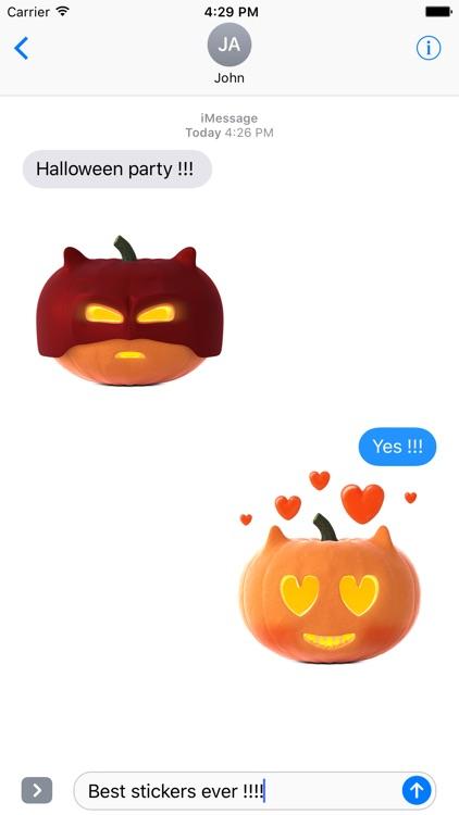 Cat O'Lanterns - Halloween Cat Pumpkins stickers screenshot-3