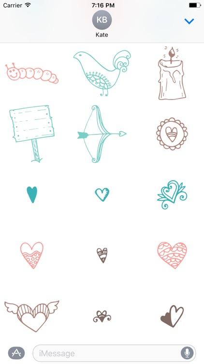 Wedding Doodles screenshot-3