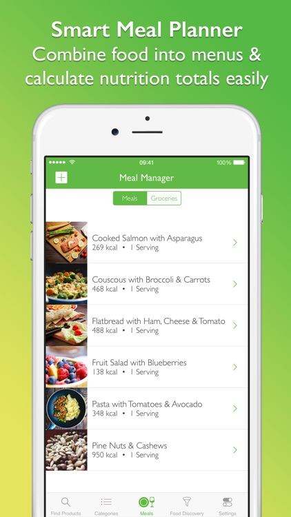 CalorieGuide Food Nutrition Facts Calculator for Fresh Produce & Healthy Diet Living