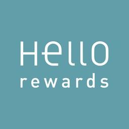 Hello Rewards Stickers