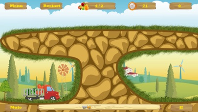 Screenshot #1 pour HappyTruck -- Fruit Express