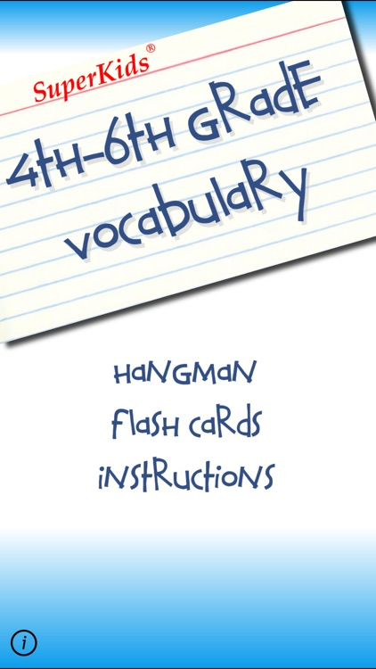 4th - 6th Grade Vocabulary
