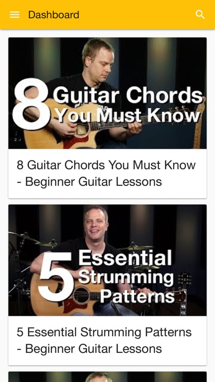 Guitar for Beginners - Free Video Guitar Lessons