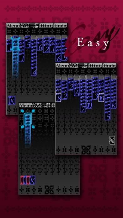 スパイダーソリティア (トランプ) ScreenShot1